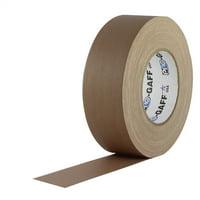 Pro Gaff Tan Gaffers Tape 2 inch x 55 yard Roll