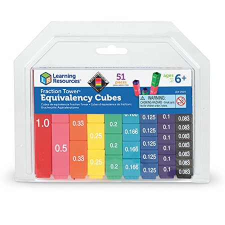 Learning Resources Fraction Tower Activity Set - image 3 of 4