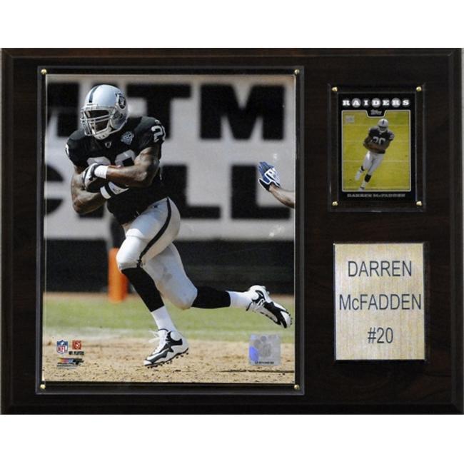 C & I Collectables 1215MCFADD NFL Darren McFadden Oakland Raiders Player Plaque