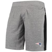 Men's Zubaz Gray New England Patriots French Terry Shorts