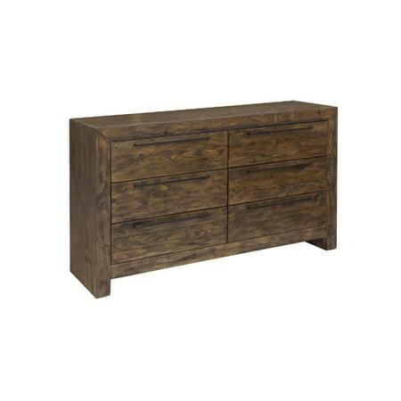 foundry select carisbrooke 6 drawer double dresser. Black Bedroom Furniture Sets. Home Design Ideas