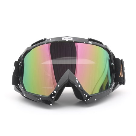 de66297cdb Areyourshop Off-Road Motocross Racing ATV Dirt Bike Motorcycle Goggles  Eyewear Lens Skiing  C - Walmart.com