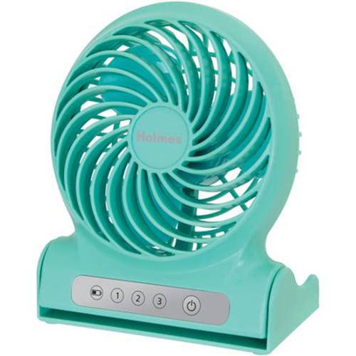 "Holmes 4"" Personal Rechargeable Fan, 2080899"