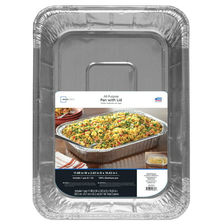 Mainstays All Purpose Pan With Lid 1 Each Walmart Com