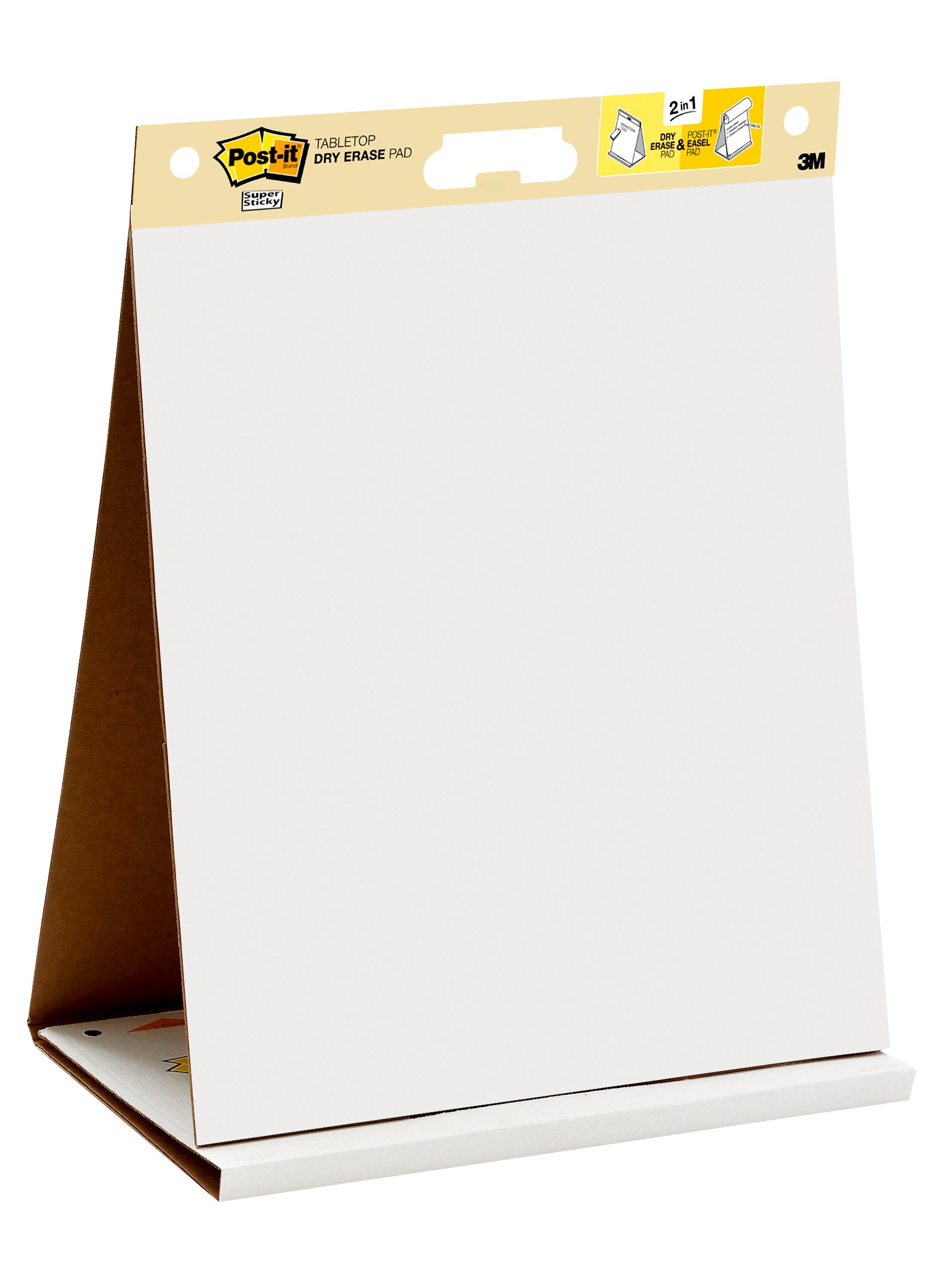 4 Pads//carton 20 X 23 Post-it Easel Pads Super Sticky 566 Self Stick Wall Easel Unruled Pad White 20 Sheets