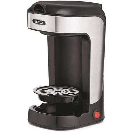 Bella Single Scoop Coffee Maker  Black