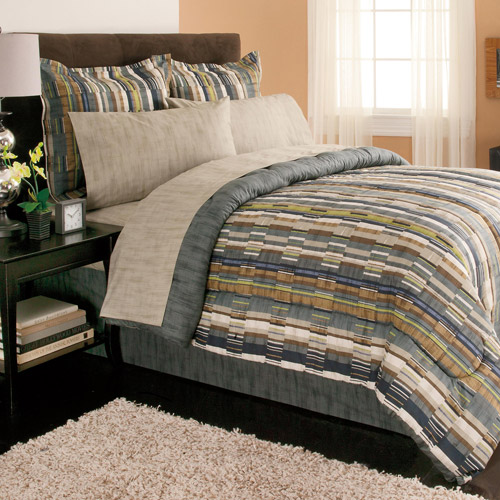 Mainstays Coordinated Bedding Set, Brett