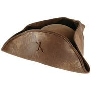 Jack Sparrow Pirate Hat Adult Costume Accessory by Elope