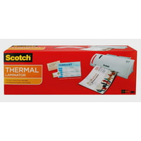 Scotch Thermal Laminator Value Pack, Includes 20 Bonus Pouches