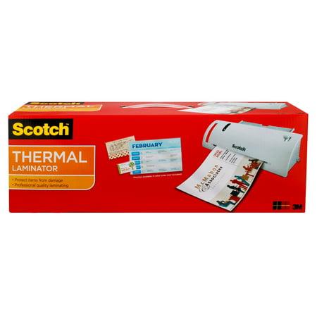 Scotch Thermal Laminator Value Pack, Includes 20 Bonus Pouches
