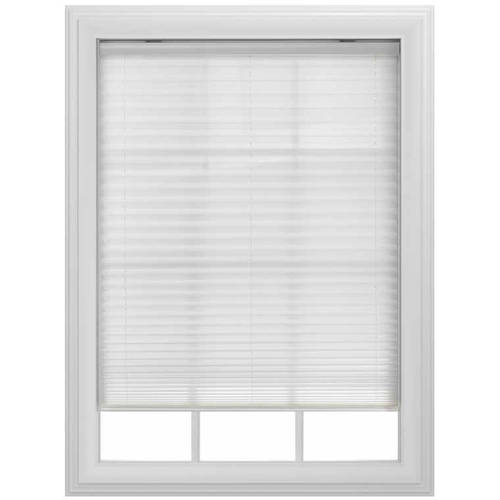 Bali Light Filtering Cordless Pleated Shade White Or