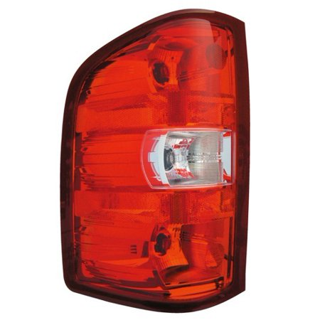 Go-Parts » 2007 - 2013 Chevrolet Silverado 1500 Rear Tail Light Lamp Assembly / Lens / Cover - Left (Driver) Side 25958482 GM2800207 Replacement For Chevrolet Silverado 1500