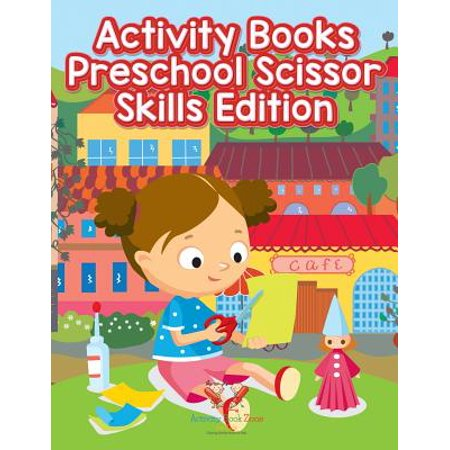 Activity Books Preschool Scissor Skills Edition](Preschool Art Activity For Halloween)