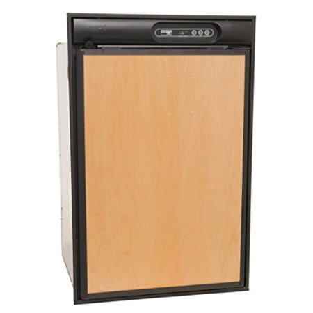 Norcold N412UL 4 cu. ft. 1 Door Refrigerator (2-Way AC/LP  Left Hand Door with Black Trim & Upper Door Handle)