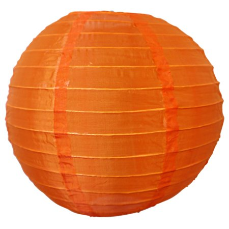Asian Import Store Distribution 14 in. Orange Nylon Lantern ()
