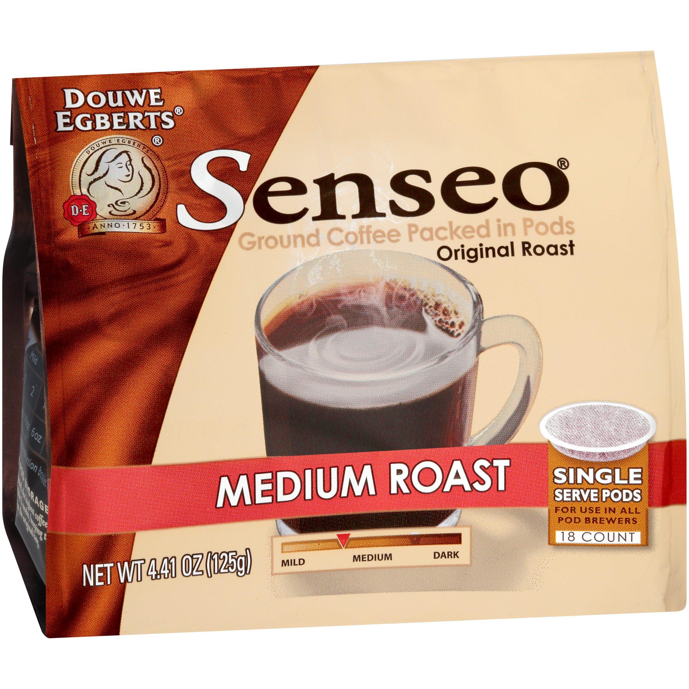 Senseo® Medium Roast Original Roast Ground Coffee Single Serve Pods 18 ct Bag