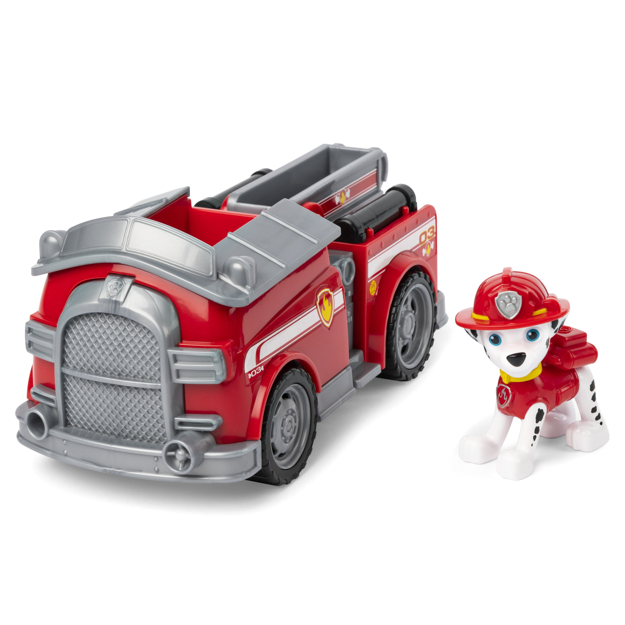"""Nickelodeon Paw Patrol Marshall/'s Ride N Rescue Transforming Fire Truck /""""NEW/"""""""
