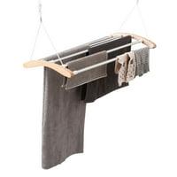 INNOKA Laundry Clothes Drying Rack Storage Drying Rack Dryer Hanging Clothes Cloth Rack (21.98ft drying space)