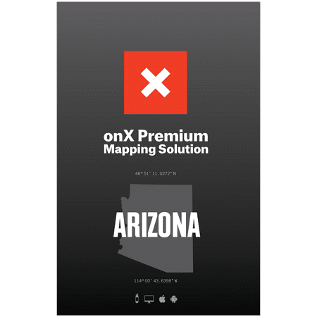 Map Of Arizona Land Ownership.Arizona Hunting Maps Onx Hunt Chip For Garmin Gps Public Private Land Ownership Game Management Units Includes Premium Membership For Onx