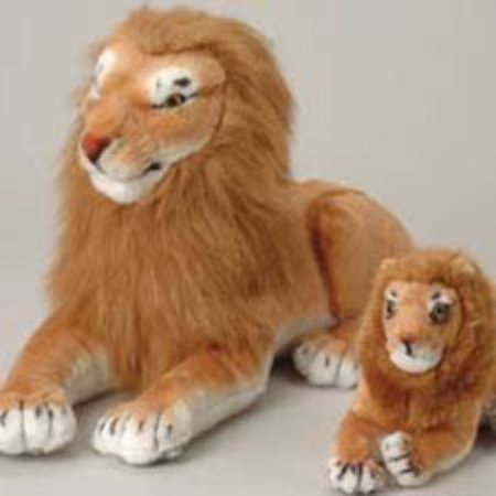 US Toy Company Jumbo Realistic Lion (2 Packs Of 1) - Toys And Company