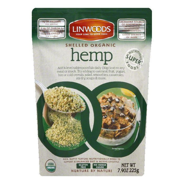 Linwoods Shelled Hemp, 7.9 OZ