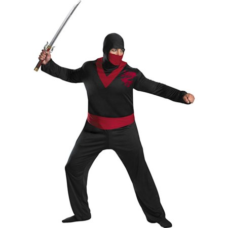 Ninja Warrior Adult Halloween Costume