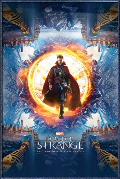 "Doctor Strange Marvel Movie Poster   Print (Regular Style Dr. Strange) (Size: 24"" x 36"") by"