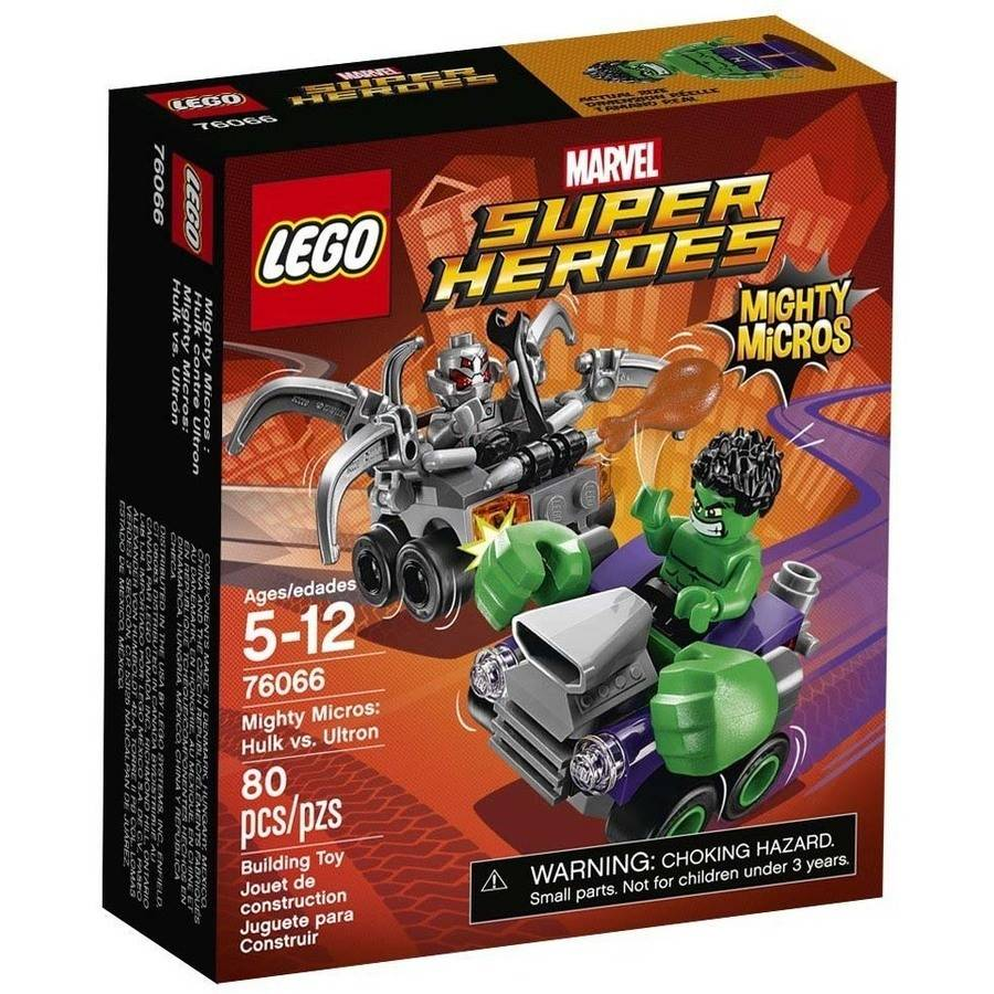 LEGO DC Super Heroes Mighty Micro: Hulk VS Ultron