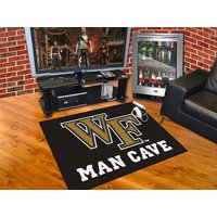 """Wake Forest Man Cave All-Star Mat 33.75""""x42.5"""""""