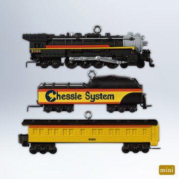 Lionel Ornament - 2012 Hallmark Ornament - Lionel Chessie Steam Special