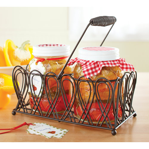 Better Homes and Gardens 2 qt Jar Wire Caddy