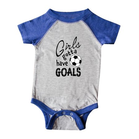Girls Gotta Have Goals- soccer Infant Creeper