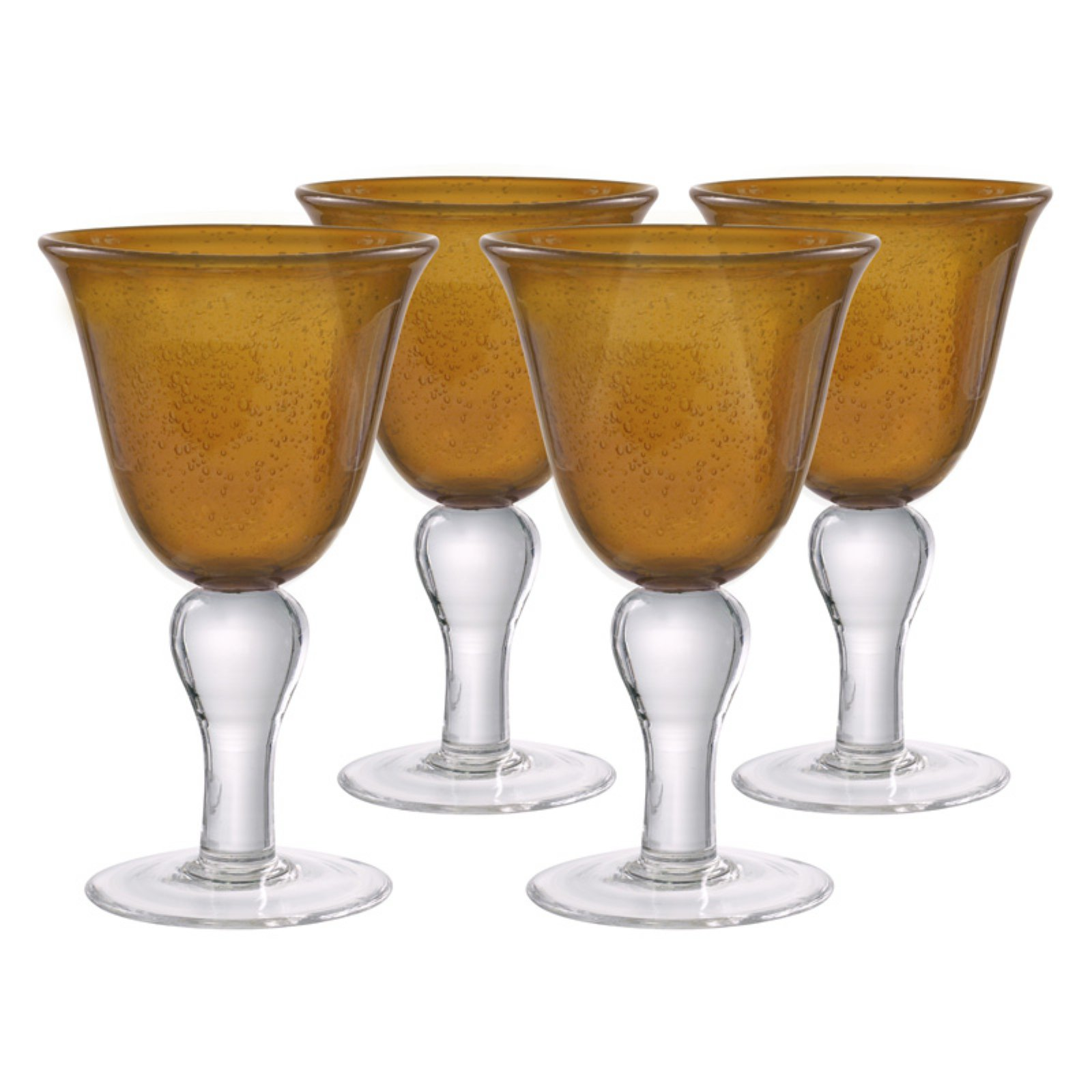 Artland Iris Wine Goblets - Set of 4
