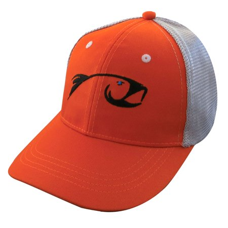 Rising fly fishing trucker baseball cap hat for Fishing hats walmart