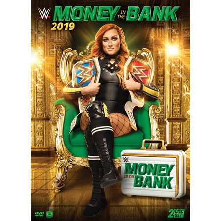 WWE: Money in the Bank 2019 (DVD) (Wwe Money In The Bank Cash In)