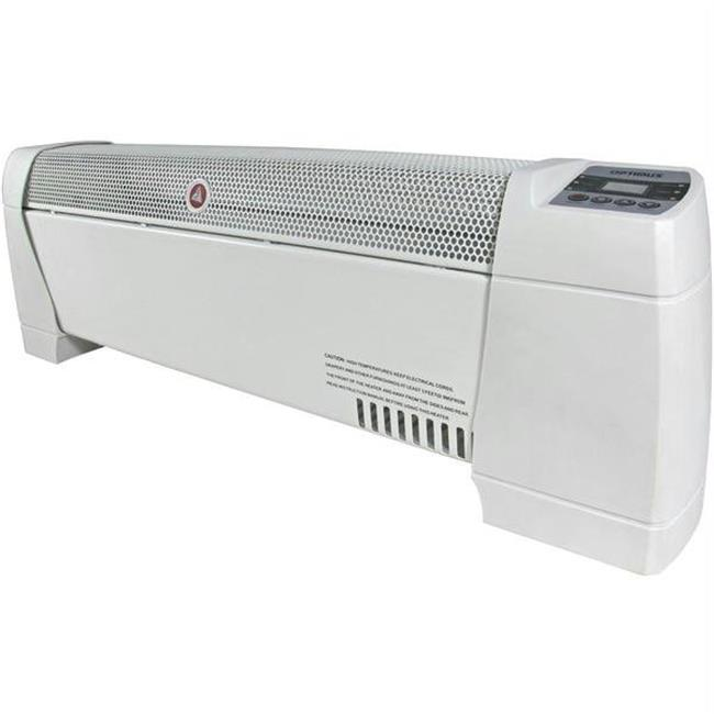 Optimus H-3603 30 inch Baseboard Heater With Thermostat