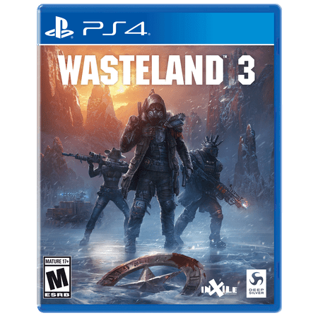Wasteland 3, THQ-Nordic, PlayStation 4, 816819017302