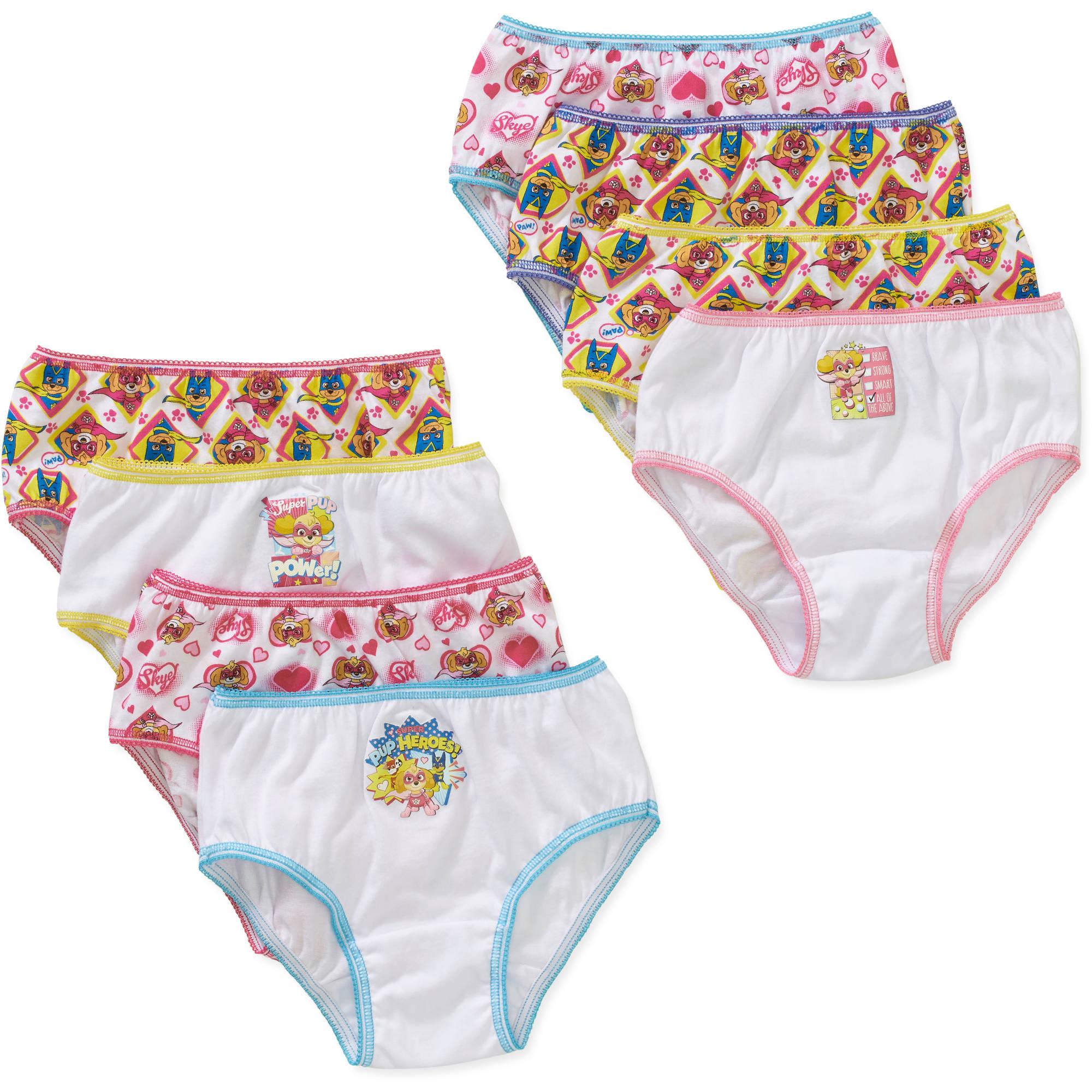 Paw Patrol Girls' Underwear 7+1 Bonus Pack