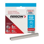 Arrow 3/8-Inch T50 Staples, 1000 Count