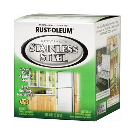 Rust Oleum Qt Stainless Steel Indoor Outdoor Paint