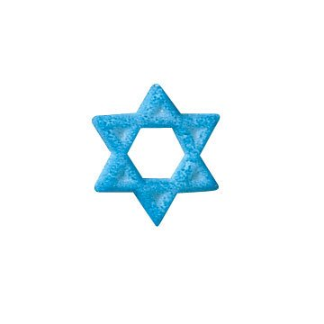 (Star of David Sugar Decorations Toppers Cupcake Cake Cookies Jewish Favors Party 12 Count)