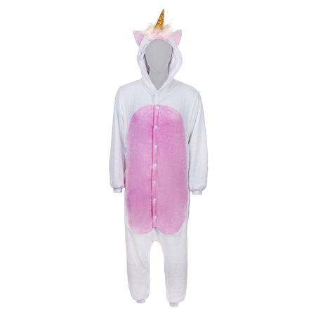SMOKO Magicorn Unicorn Onesie   Adult Cozy Halloween Costume   White Cosplay One Piece - Unicorn Costume Onesie