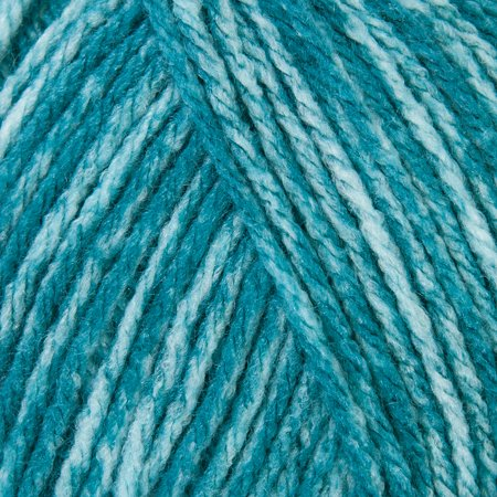 23 Acrylic Yarn - Mary Maxim Starlette Yarn - Teal Heather - 100% Ultra Soft Premium Acrylic Yarn for Knitting and Crocheting - 4 Medium Worsted Weight