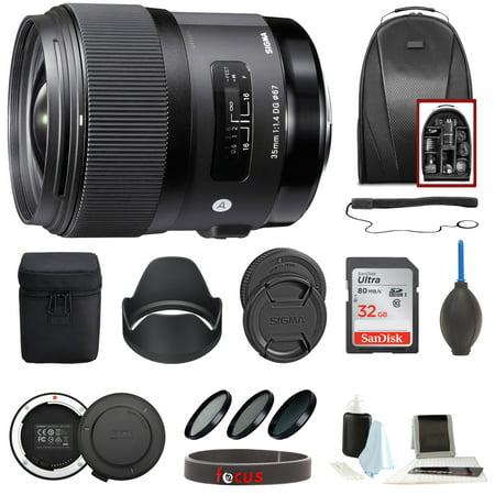 Sigma 35mm f/1.4 DG HSM ART Lens for Canon EF Accessory