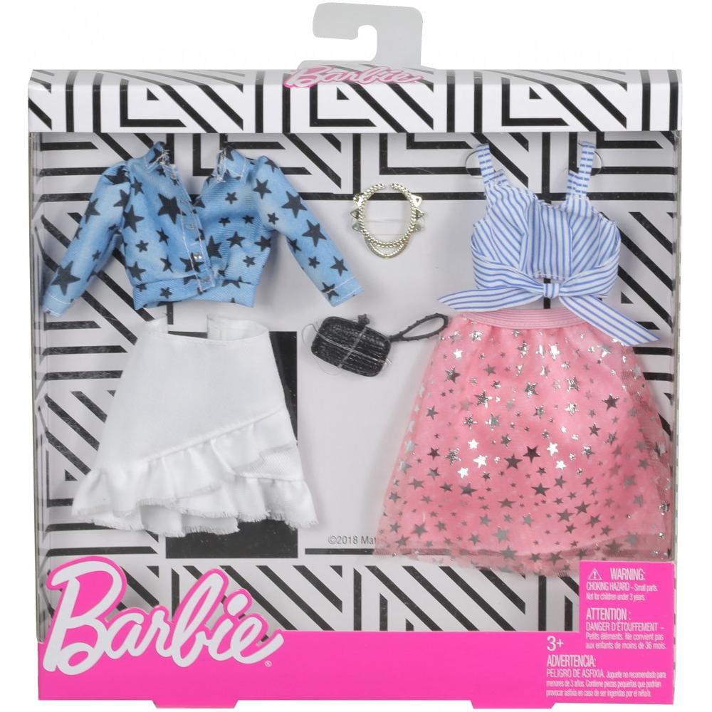 Barbie Stars Stripes Outfit Fashion Pack With Accessories Walmart Com Walmart Com