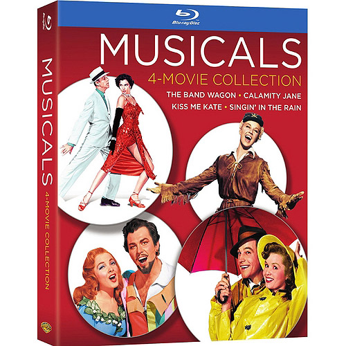 Musicals 4-Movie Collection: The Band Wagon / Calamity Jane / Kiss Me Kate / Singin' In The Rain (Blu-ray) WARBR524932
