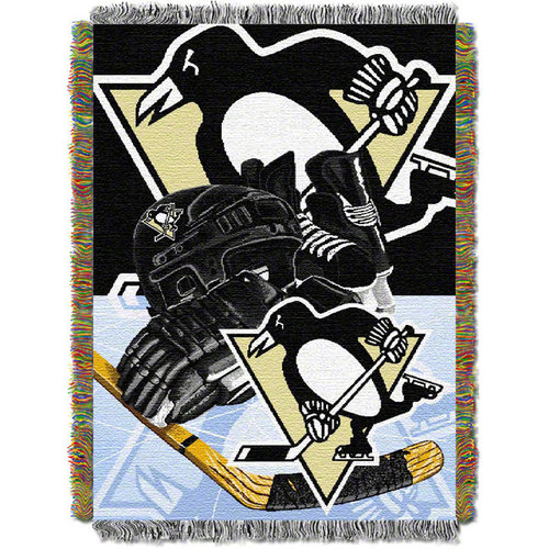 NHL - Pittsburgh Penguins 48x60 Home Ice Advantage Tapestry Throw