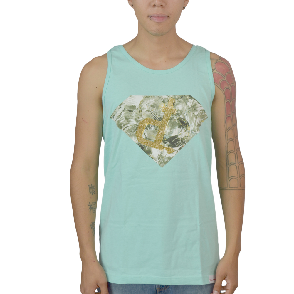 Diamond Chain Mint Licensed Tank Top NEW Sizes S-XL