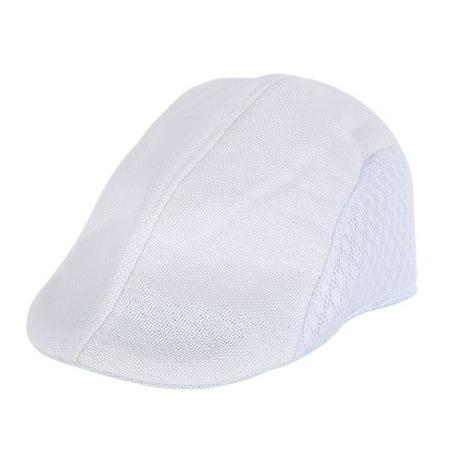 dfa30e4aa Men Women' British style Universal Golf Hat Boys Girls Hats Hollow Duckbill  Caps