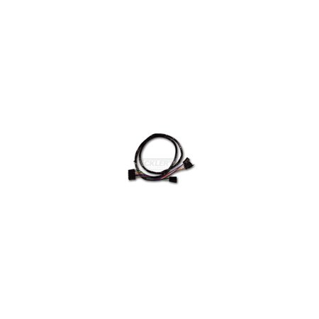 Transmission Center Console - Eckler's Premier  Products 50205409 Chevelle Center Console Extension Wiring Harness For Cars With Automatic Transmission